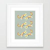 MARTENS Framed Art Print