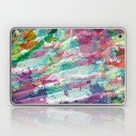Bright Color Splash Abst… Laptop & iPad Skin