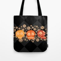 Day Of The Dead ~ Dias D… Tote Bag