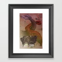 Dragons De Cluny Framed Art Print
