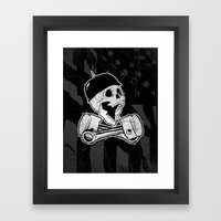 666% Framed Art Print