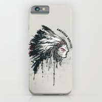 iPhone & iPod Case featuring American Heritage (White) by Ruxi Li