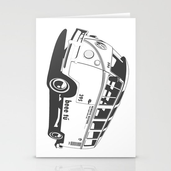 VW T1 Stationery Card
