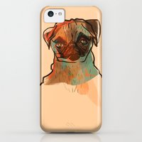 iPhone Cases featuring Pug by Frederico Pompeu