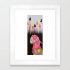 Hunting The City  Framed Art Print