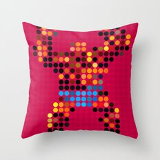 Mr Something Throw Pillow