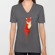 The Fox, The Forest Spir… Unisex V-Neck
