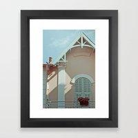 Maison Framed Art Print
