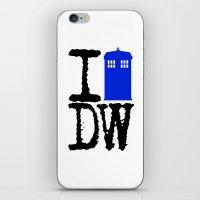 I Love Doctor Who! iPhone & iPod Skin