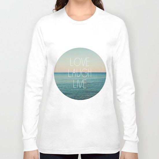 Love Laugh Live #2 Long Sleeve T-shirt