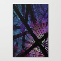 Oh, What A Tangled Web We Weave Canvas Print