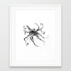 Star Octopus Framed Art Print