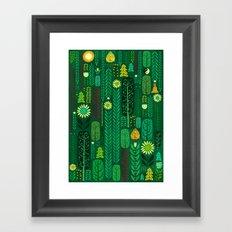 Sacred Forest (Portrait) Framed Art Print