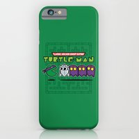iPhone & iPod Case featuring Hero in a Pac-Shell (Donnie) by Mike Handy Art