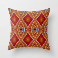 Native Pattern 5 Throw Pillow