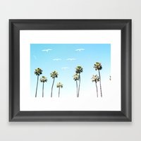 A California Summer  Framed Art Print