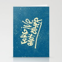 Take Care of Each Other, Part 5 Stationery Cards