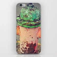 Hydrant Of Fire iPhone & iPod Skin