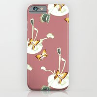 iPhone & iPod Case featuring Venus Flutterby by Jenny Wilkinson