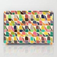 ikat weave iPad Case