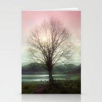 Village Green Tree Stationery Cards