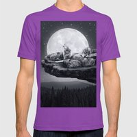 Echoes Of A Lullaby Mens Fitted Tee Ultraviolet SMALL