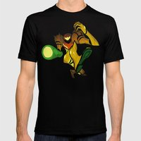 SAMUS Mens Fitted Tee Black SMALL