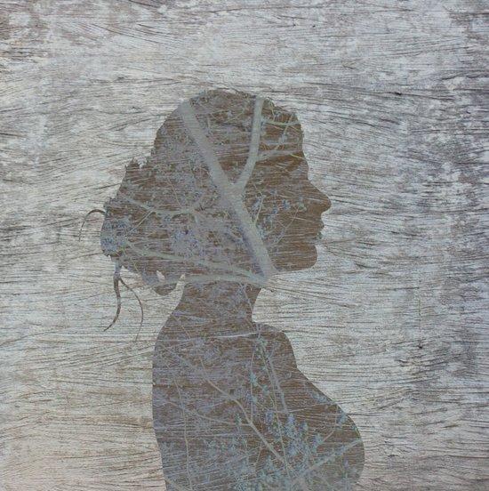 a natural silhouette, one  Art Print