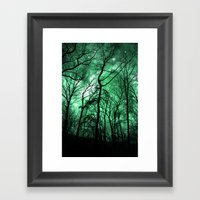 The Trees Reach Out At N… Framed Art Print
