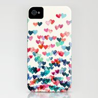 Heart Connections - Wate… iPhone (4, 4s) Slim Case