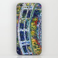 Monet Interpretation iPhone & iPod Skin
