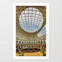 The Corn Exchange Interi… Art Print