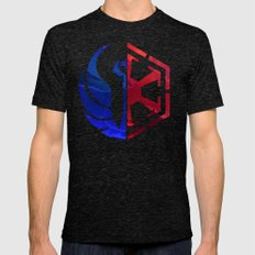 The Old Republic  Mens Fitted Tee Tri-Black SMALL