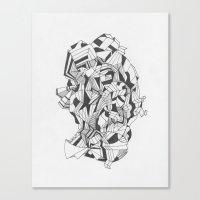 Art of Geometry 6 Canvas Print