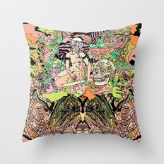 Luminous for a Moment Throw Pillow