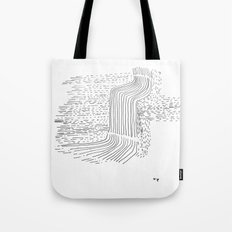 Falls in eternity Tote Bag