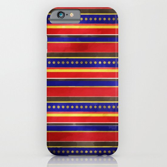 Stripes and Dots iPhone & iPod Case