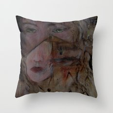 crying with a thousand eyes revised Throw Pillow