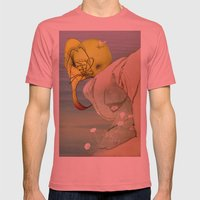 Viagem#1 Mens Fitted Tee Pomegranate SMALL