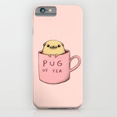 Pug of Tea Slim Case iPhone 6s