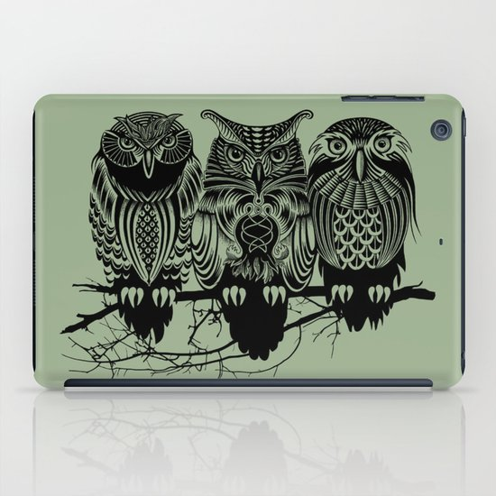 Owls of the Nile iPad Case