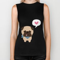 Pancho the Pug Biker Tank