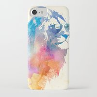 sun iPhone & iPod Cases featuring Sunny Leo   by Robert Farkas