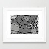 Mid-Century Mod 2 Framed Art Print