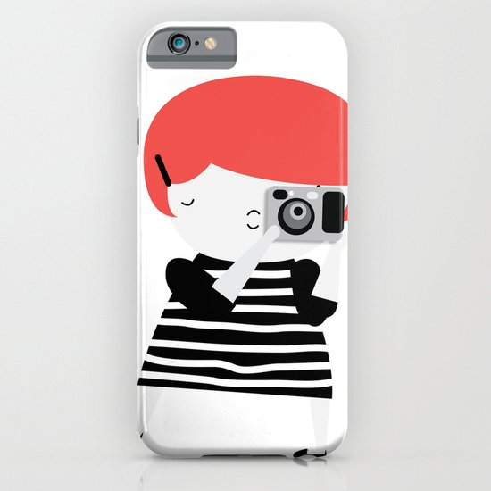 The ginger photographer iPhone & iPod Case