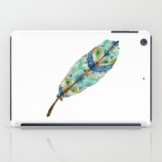 Seaside Feather iPad Case