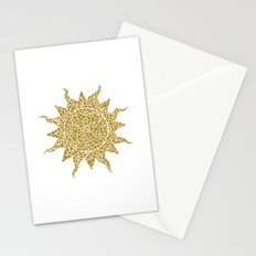 Mosaic Sun Stationery Cards