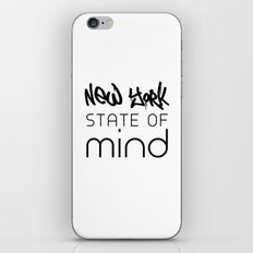 NY State of Mind iPhone & iPod Skin