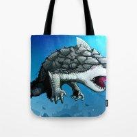 Sharkzilla Tote Bag