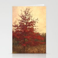 Red Oak Stationery Cards